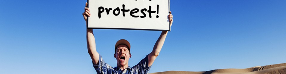 Political Protests: Moments of Self-Definition